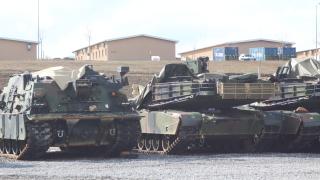 """400 US военни участват в съвместно учение с наши на """"Ново село"""""""