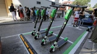 Тротинетките забранени по тротоара; Арестуват над 400 коли на ден в София
