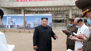 Ким настоя Пхенян да поеме щетите от тайфуна в Северна Корея