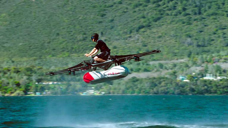 Google, Лари Пейдж и летящите автомобили