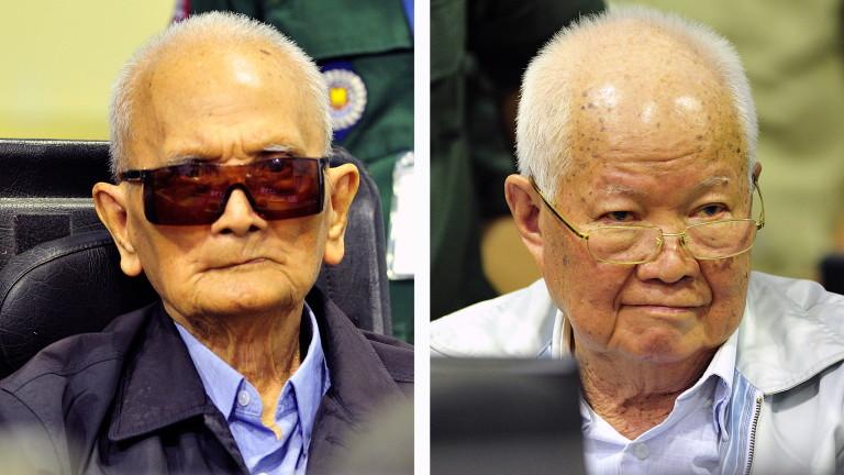 За първи път лидери на Червените кхмери са осъдени за