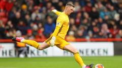 Вратар на Манчестър Юнайтед мисли за напускане