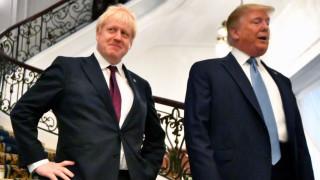 Джонсън иска от Тръмп сделка за свободна търговия след Брекзит