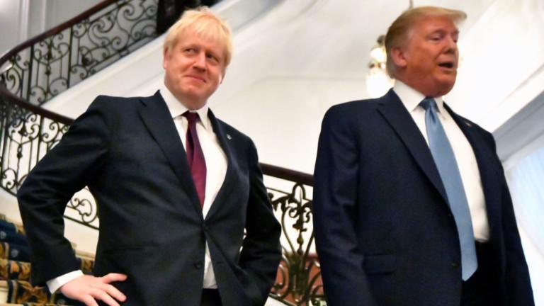 Премиерът на Великобритания Борис Джонсън призова президента на САЩ Доналд