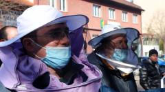 Пчеларите на протест пред земеделското министерство