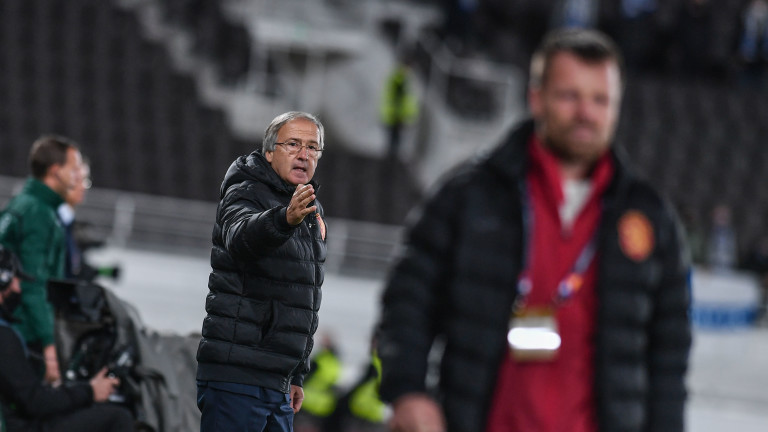 Под ръководството на Дерменджиев: Три отбелязани гола в 7 мача за България