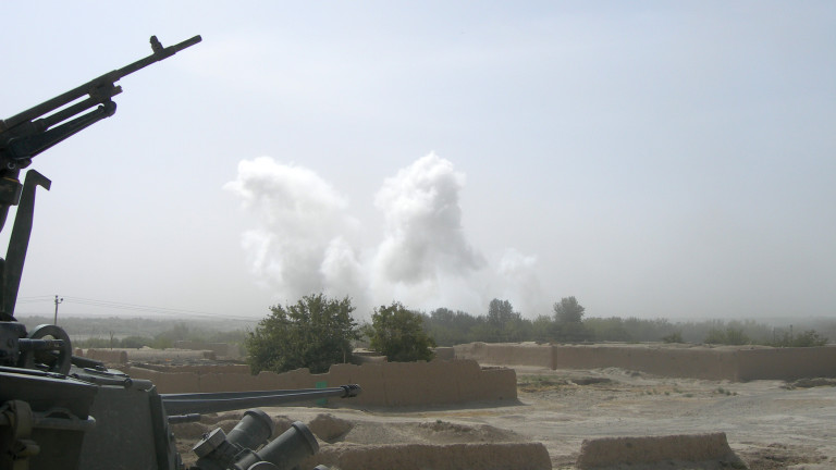 Съединените щати нанесоха въздушни удари в подкрепа на афганистанските правителствени