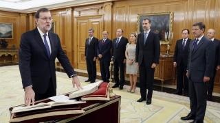 Мариано Рахой положи клетва като премиер на Испания