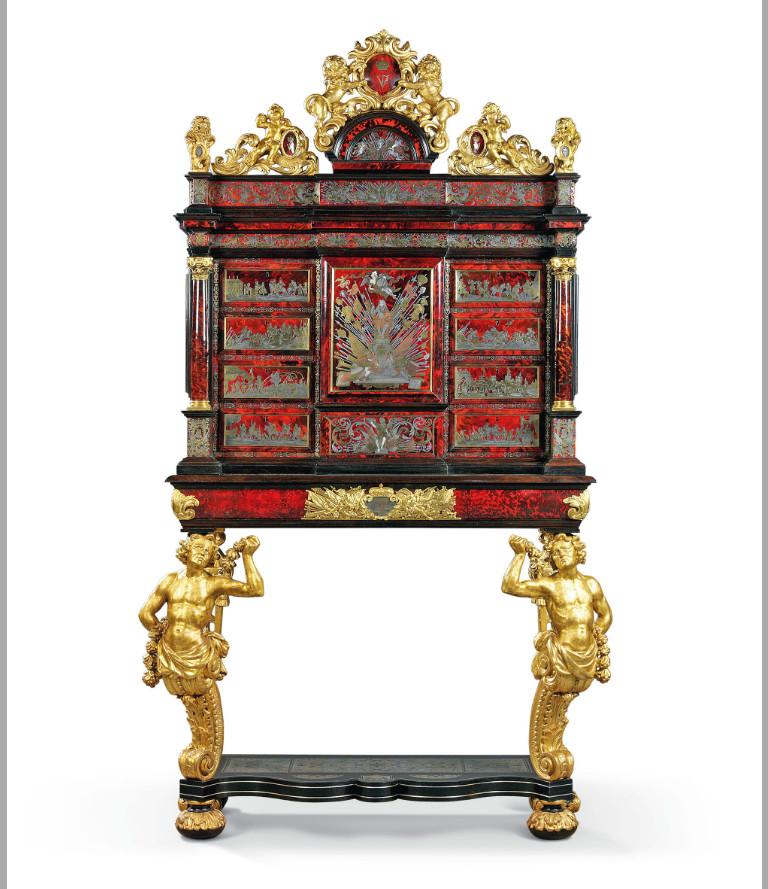 Шкафовете, изработени Хендрик фон Соест
