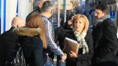 Съдът отложи делото на Мая Манолова за касиране на изборите в София