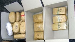 800 кг хероин са хванали митничарите у нас тази година