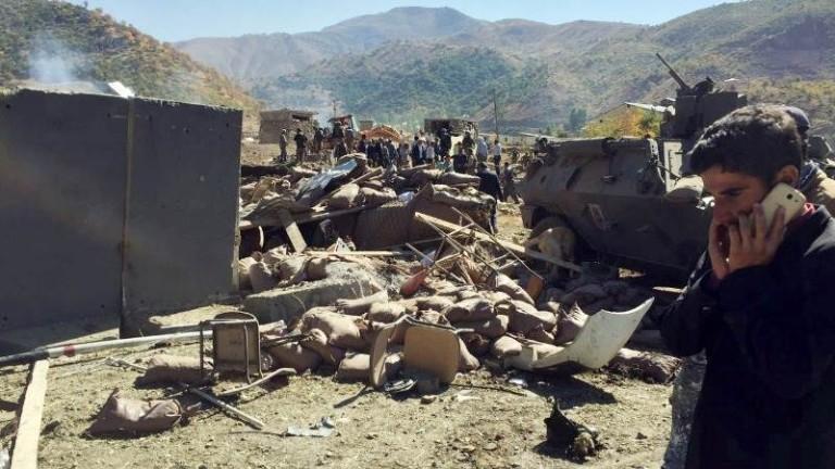 Доминираните от сирийските кюрди Сирийски демократични сили (СДС) са атакували