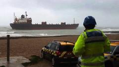 Британските власти задържаха руски товарен кораб