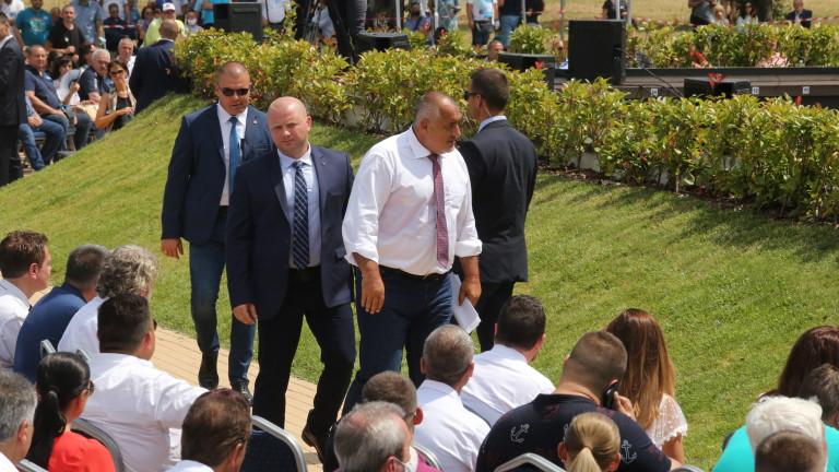 Премиерът Бойко Борисов е готов по всяко време да си