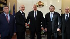 Турция е стратегически партньор, увери Борисов вътрешния министър Сойлу