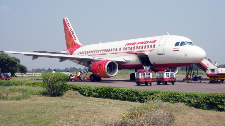 Пътнически самолет на превозвача Air India направи