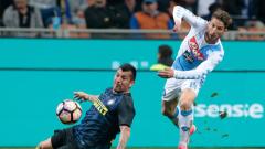 Интер - Наполи 0:1 (Развой на срещата по минути)