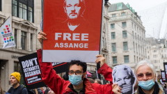 """""""Амнести"""" настоя САЩ да свалят обвиненията, а Великобритания да освободи Асандж"""