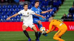 Хетафе победи Валенсия с 1:0 за Купата на Краля