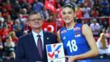 Тияна Бошкович е МВП на дамския Евроволей 2019