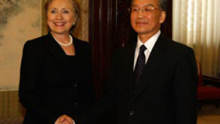 Клинтън призова за заздравяване на отношенията с Китай
