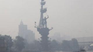 Москва отново в плен на дим и натрапчива миризма