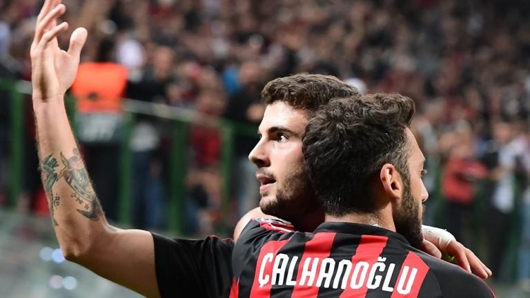 Милан с обрат срещу Олимпиакос, вкара 3 гола за 9 минути