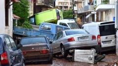 Наводненията в Гърция взеха три жертви