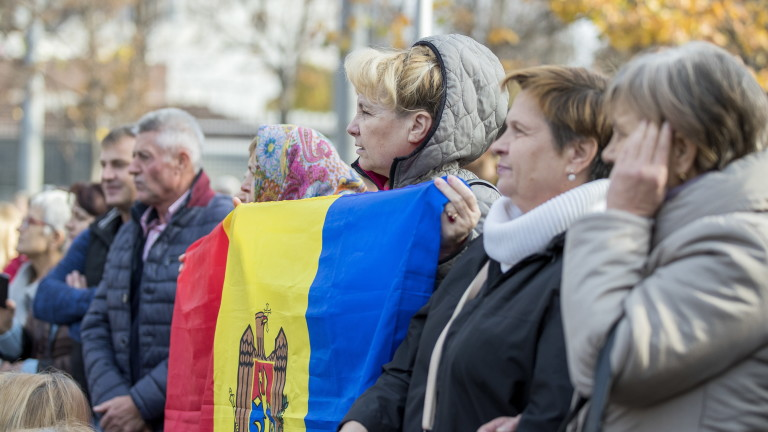 Коалиционното правителство на Молдова, в което влизат проевропейска група и