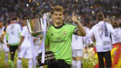Икер Касияс се завърна в Реал (Мадрид)