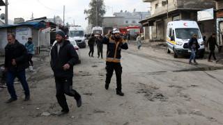 12 цивилни убити при руски бомбардировки в Сирия