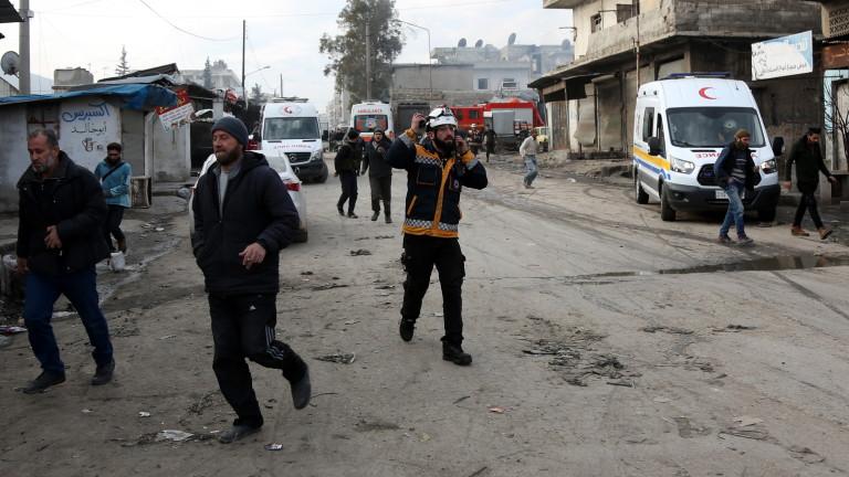 Руски въздушни удари на няколко места в Северна Сирия днес