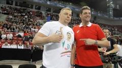 Алекно: Обичам всички български волейболисти, винаги побеждавам с тях