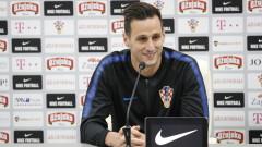 Селекционерът на Хърватия обясни защо е натирил Никола Калинич