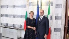 Италия: Приоритетите на вашето Председателство са и наши приоритети