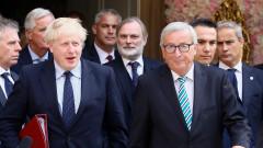 Още чакаме предложение на Лондон за механизма, разкри Юнкер след обяда с Джонсън