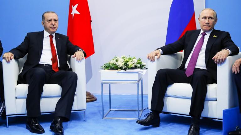 Среща на върха Ердоган-Путин-Макрон-Меркел в Истанбул