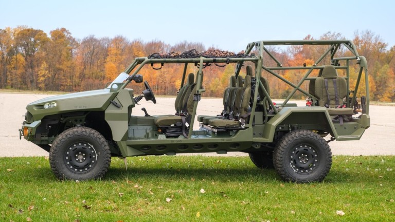 Американската пехота ще има нов  офроуд транспорт (Видео)