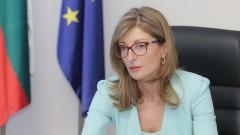 Екатерина Захариева осъди арестите на протестиращи в Русия