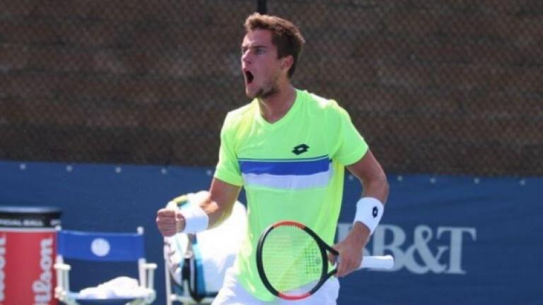 Слабо известният хърватски тенисист Борна Гойо ще замени Марин Чилич