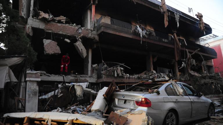 Израелската армия заяви, че е прехванала четири ракети от Сирия