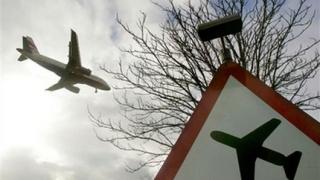 Самолет излезе от пистата на летище Лесново