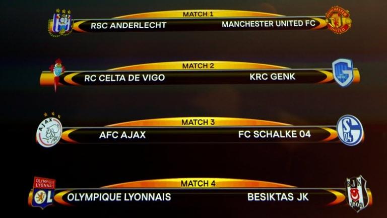 Манчестър Юнайтед срещу Андерлехт в Лига Европа