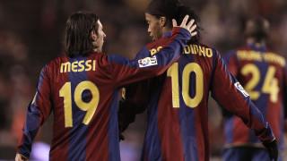 """Барселона продаде ""пияните"" Роналдиньо и Деко, за да предпази Лионел Меси """