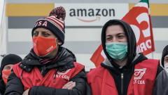 """Италианците призовани да бойкотират """"Амазон"""" за подкрепа на стачкуващите"""