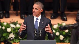 Обама критикува речта на Тръмп