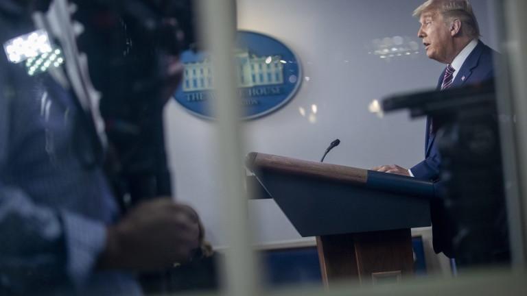 Американски телевизии спряха лъжите на Тръмп по време на реч към нацията