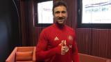 Андре Монтейро дебютира за ЦСКА срещу Левски?