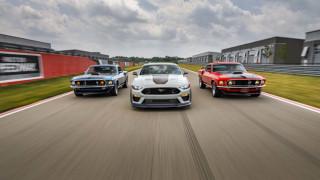 Ford възкреси легендарния Mustang Mach 1 с нов модел за 2021 г.