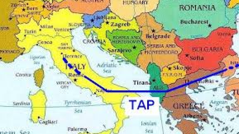 Петкова и Дончев участват в старта на Трансадриатическия газопровод
